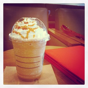 Guilty pleasures - karmelowe frappuccino
